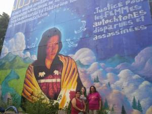 Montreal Memorial Mural 2